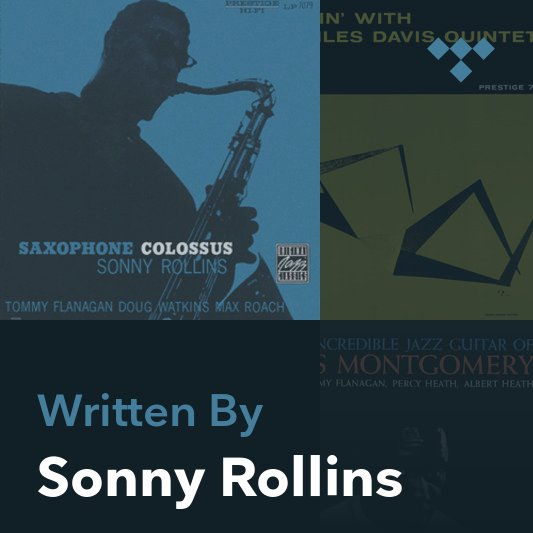 Songwriter Mix: Sonny Rollins