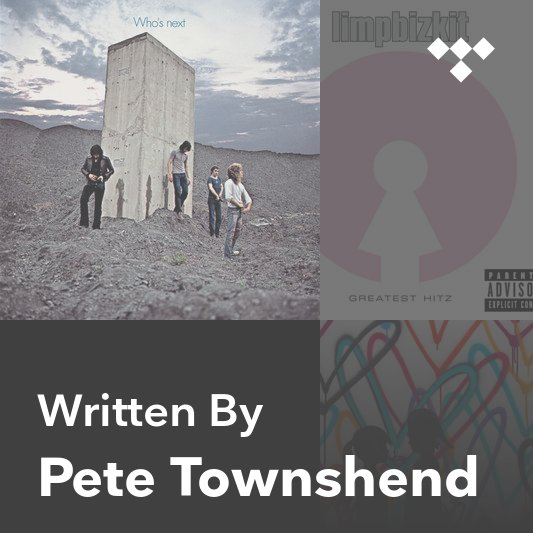 Songwriter Mix: Pete Townshend