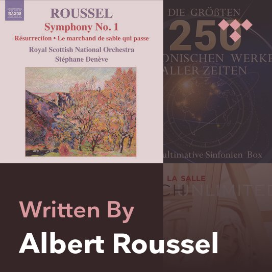 Songwriter Mix: Albert Roussel