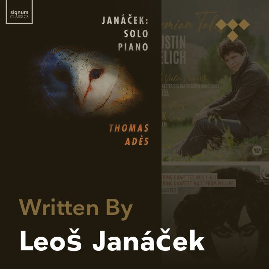 Songwriter Mix: Leoš Janáček