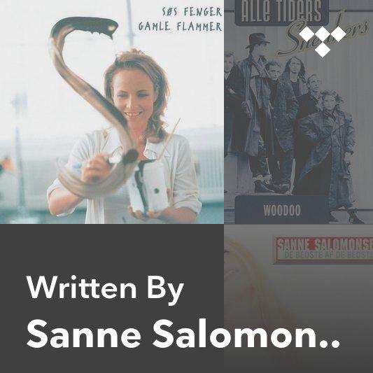 Songwriter Mix: Sanne Salomonsen