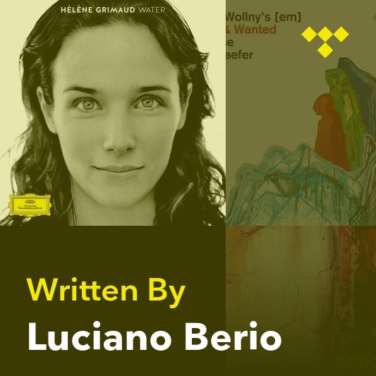 Songwriter Mix: Luciano Berio