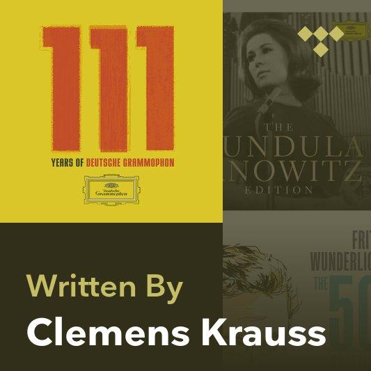 Songwriter Mix: Clemens Krauss