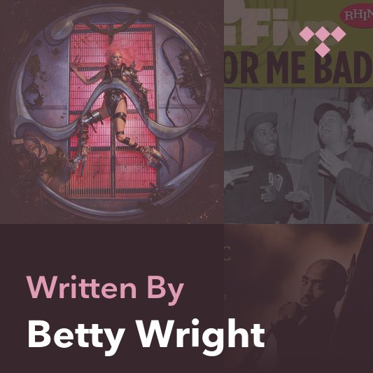 Songwriter Mix: Betty Wright