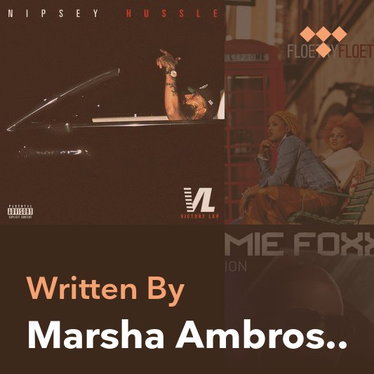 Songwriter Mix: Marsha Ambrosius