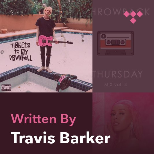 Songwriter Mix: Travis Barker