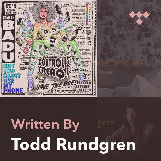 Songwriter Mix: Todd Rundgren