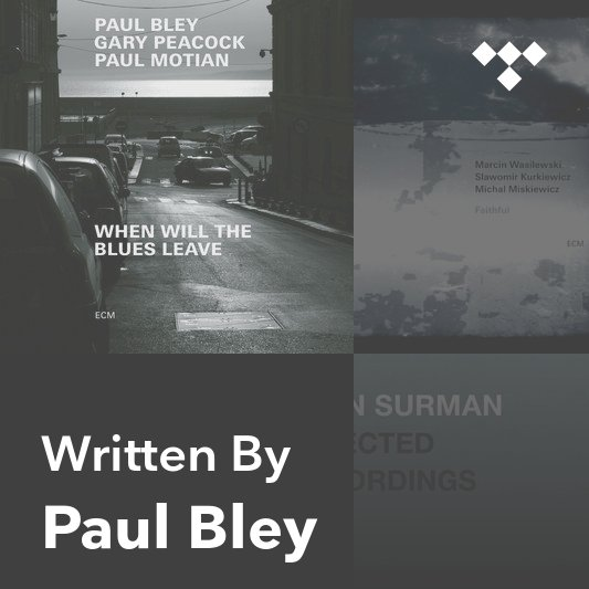 Songwriter Mix: Paul Bley