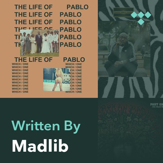 Songwriter Mix: Madlib
