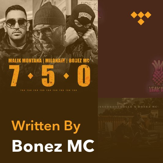 Songwriter Mix: Bonez MC