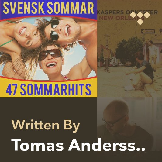 Songwriter Mix: Tomas Andersson Wij