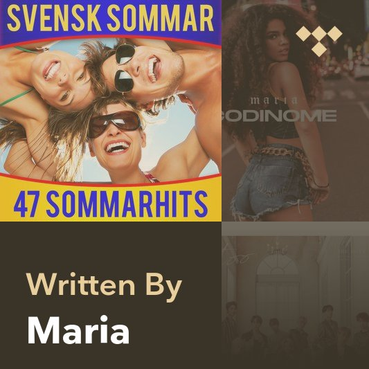 Songwriter Mix: Maria