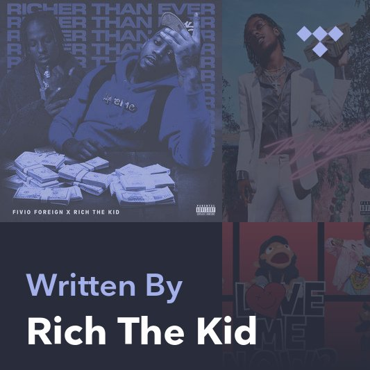 Songwriter Mix: Rich The Kid