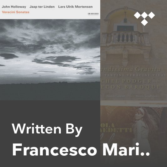 Songwriter Mix: Francesco Maria Veracini