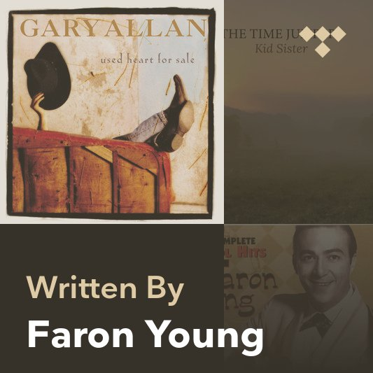 Songwriter Mix: Faron Young