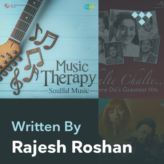 Songwriter Mix: Rajesh Roshan
