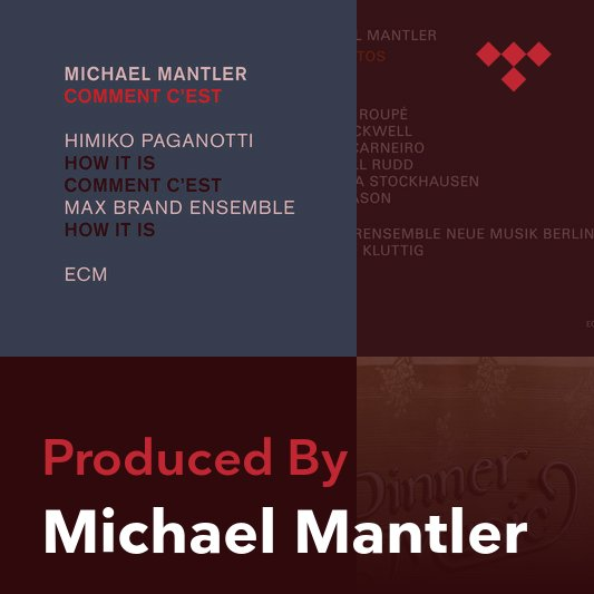 Producer Mix: Michael Mantler