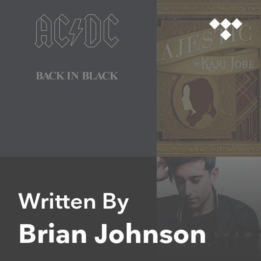 Songwriter Mix: Brian Johnson