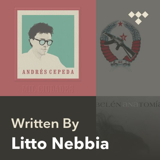 Songwriter Mix: Litto Nebbia