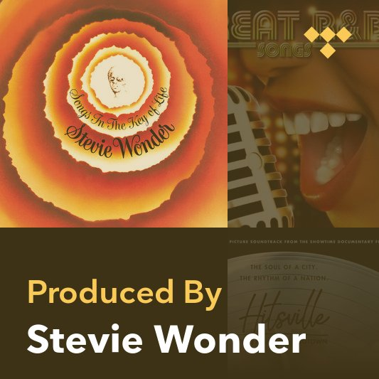 Producer Mix: Stevie Wonder