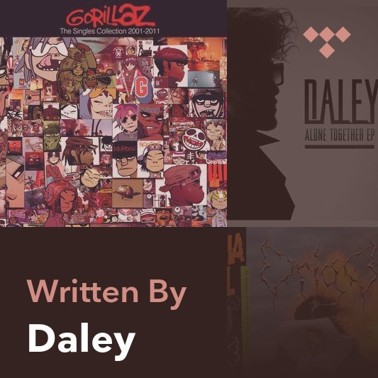 Songwriter Mix: Daley