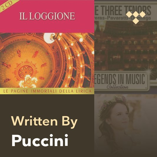 Songwriter Mix: Puccini