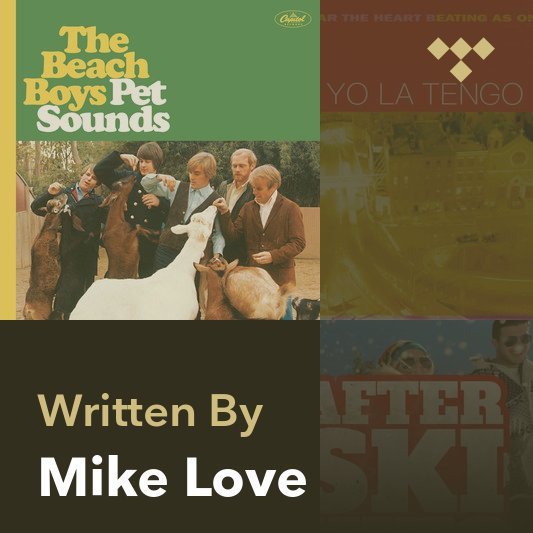 Songwriter Mix: Mike Love