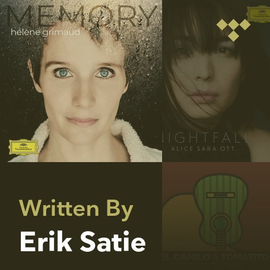Songwriter Mix: Erik Satie