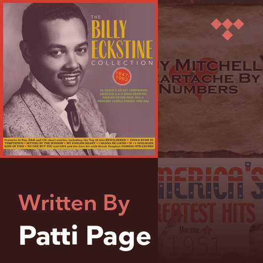 Songwriter Mix: Patti Page