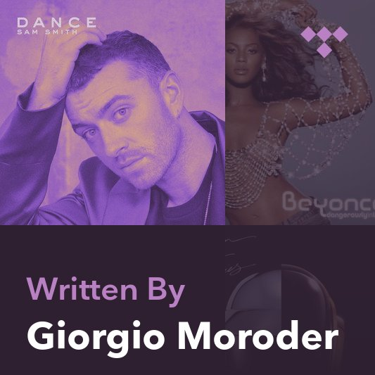 Songwriter Mix: Giorgio Moroder