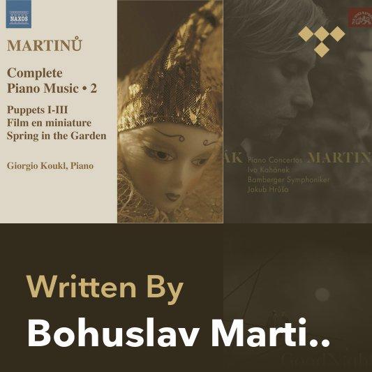 Songwriter Mix: Bohuslav Martinů