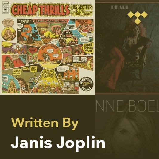 Songwriter Mix: Janis Joplin