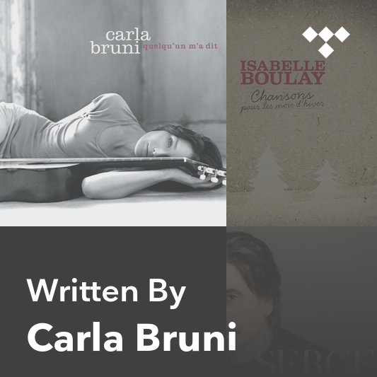 Songwriter Mix: Carla Bruni