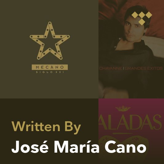 Songwriter Mix: José María Cano