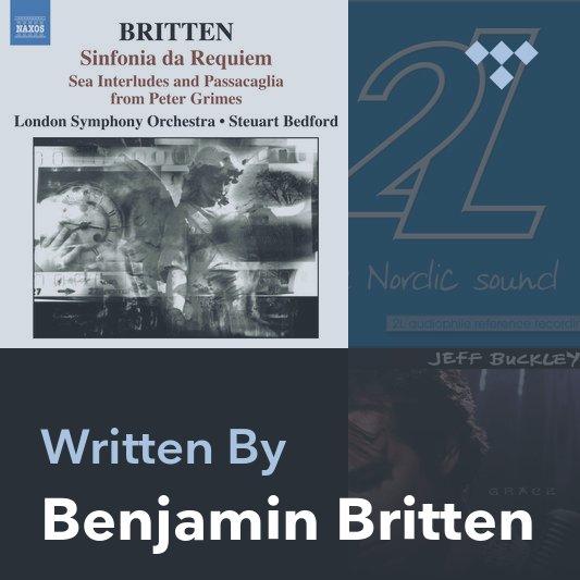 Songwriter Mix: Benjamin Britten