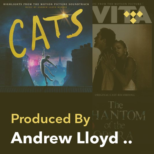 Producer Mix: Andrew Lloyd Webber