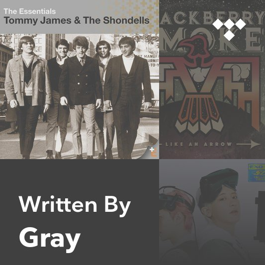 Songwriter Mix: Gray