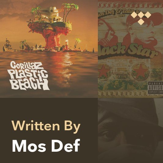 Songwriter Mix: Mos Def