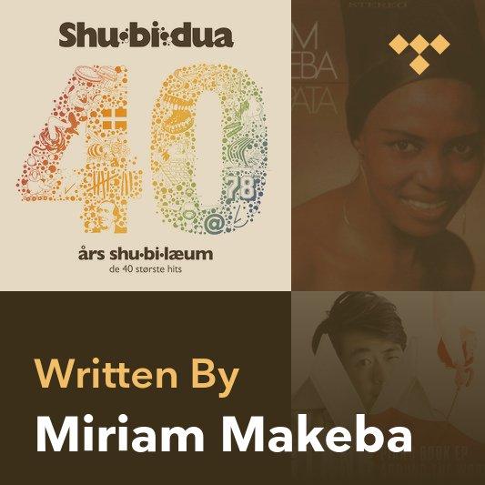Songwriter Mix: Miriam Makeba