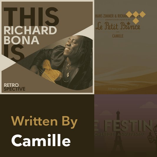 Songwriter Mix: Camille