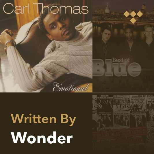 Songwriter Mix: Wonder