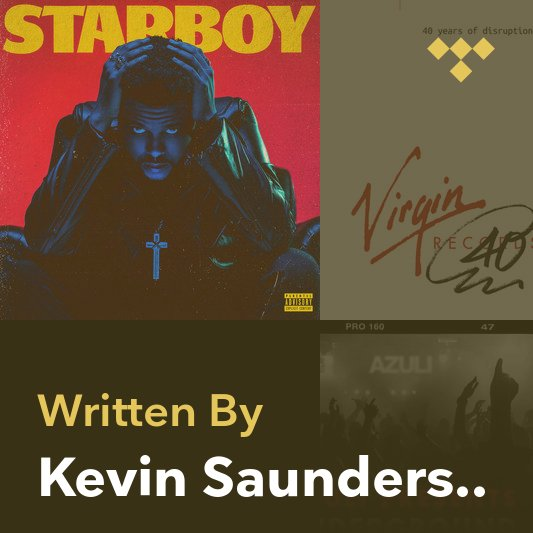Songwriter Mix: Kevin Saunderson
