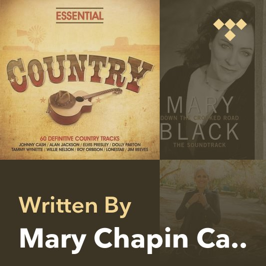 Songwriter Mix: Mary Chapin Carpenter