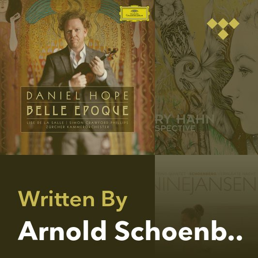 Songwriter Mix: Arnold Schoenberg