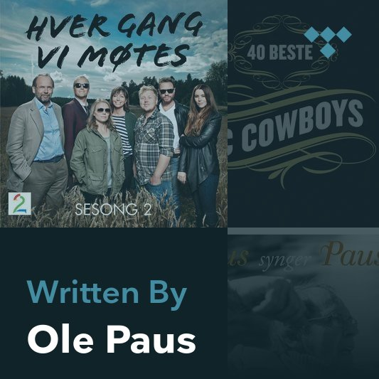 Songwriter Mix: Ole Paus
