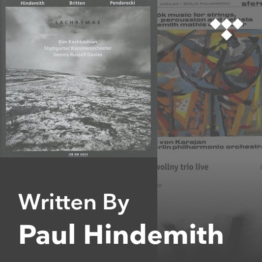 Songwriter Mix: Paul Hindemith