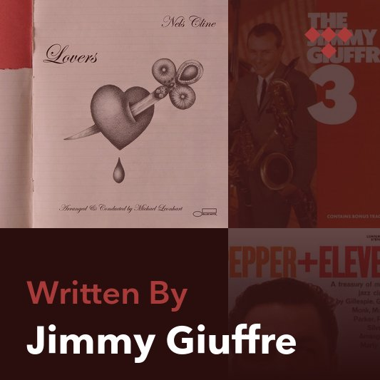 Songwriter Mix: Jimmy Giuffre