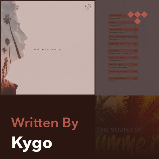 Songwriter Mix: Kygo