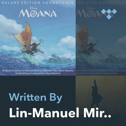 Songwriter Mix: Lin-Manuel Miranda