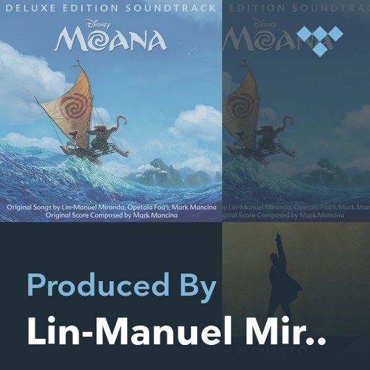 Producer Mix: Lin-Manuel Miranda